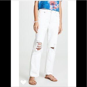 AGOLDE 1990's high rise jeans sz 25